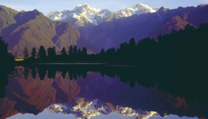 Image: Renowned Lake Matheson minutes away