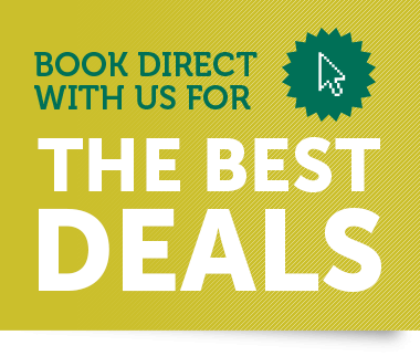 Book direct with us for the best deals